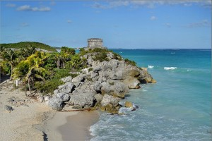Robert Pittman Tulum Ruins 6. Beach