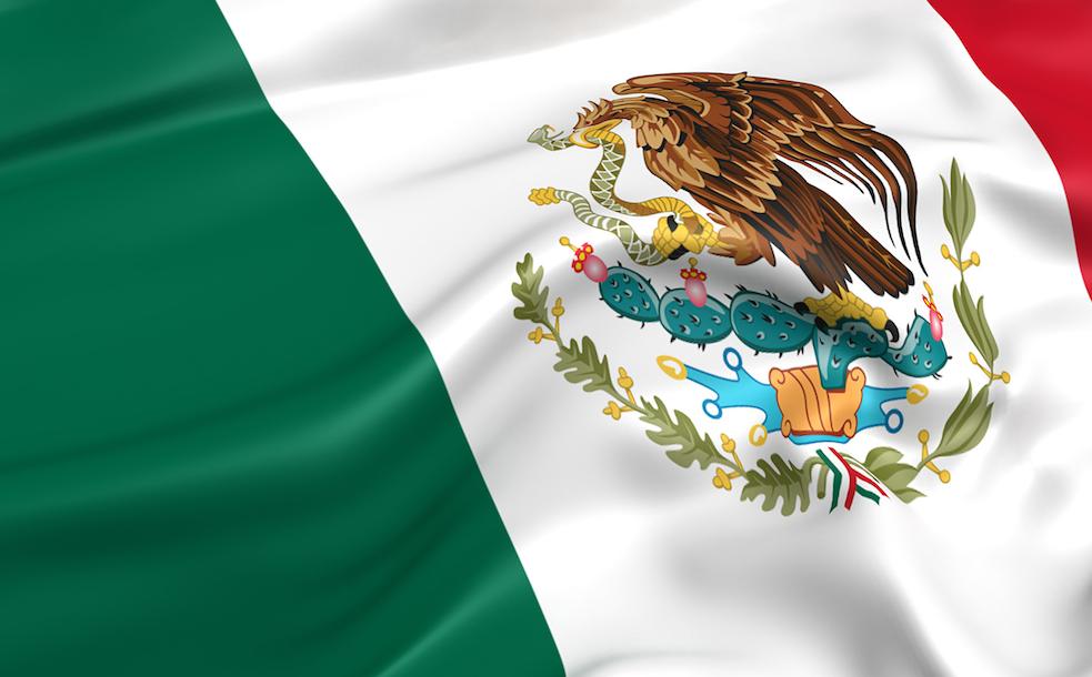 Mexico economy flag